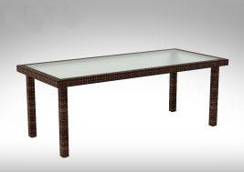 Садовый стол из искусственного ротанга CAPRA 2