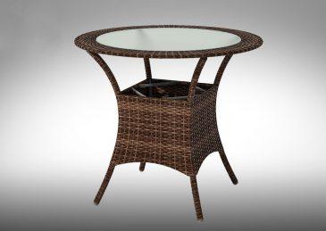 Садовый стол из искусственного ротанга CAPRIOLO 2