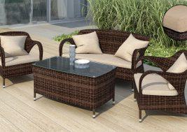 Комплект садовой мебели из ротанга Onice
