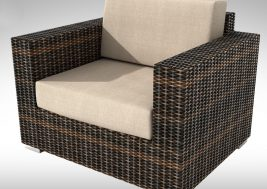 Кресло из ротанга Brillante