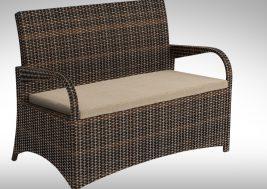 Комплект садовой мебели из ротанга Smeraldo 3