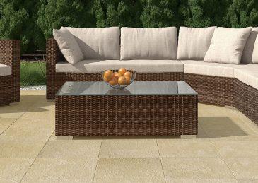Комплект садовой мебели из ротанга Aperto