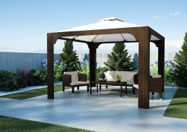 Теневой навес для сада Балдахин Oltre