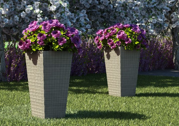 Плетеные вазы SCALEO 2