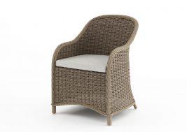 Кресло из искусственного ротанга LEONARDO песочный