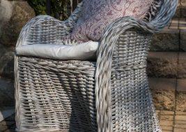 Кресло из натурального ротанга VERSAILLES 7