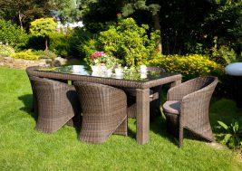 Fotele Dolce Vita Ze Stolem Rapallo Royal Brazowe 1311339787