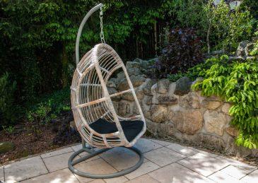 Подвесное кресло NICEA из натурального ротанга 2