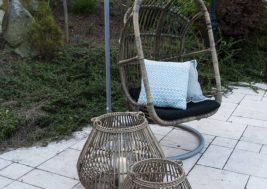 Подвесное кресло NICEA из натурального ротанга 3