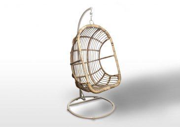 Подвесное кресло NICEA из натурального ротанга 9