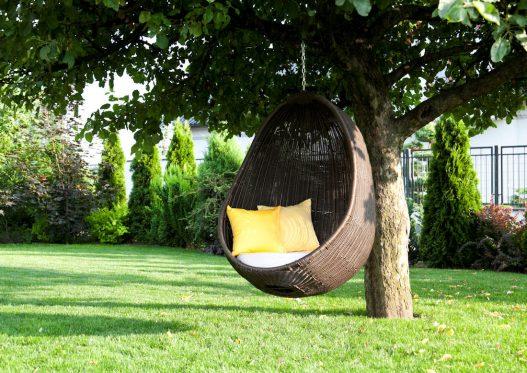 Подвесное кресло для сада Cocoon Royal 2