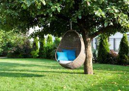 Подвесное кресло для сада Cocoon Royal