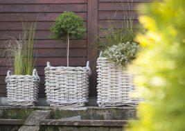 Плетеная корзина из натурального ротанга Narbonne 11