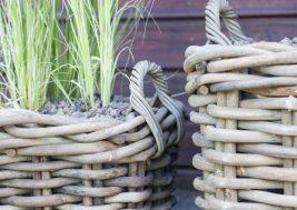 Плетеная корзина из натурального ротанга Narbonne 14