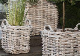 Плетеная корзина из натурального ротанга Narbonne 8