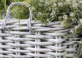 Плетеная корзина из натурального ротанга Narbonne 10