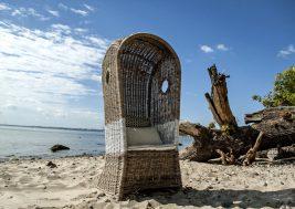 Кресло пляжное из ротанга ST TROPEZ 8