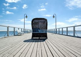 Кресло пляжное из ротанга ST TROPEZ 9