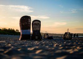 Кресло пляжное из ротанга ST TROPEZ 10