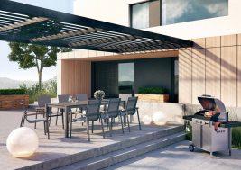 Садовый стул Alicante Teak 2