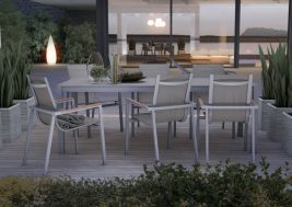 Садовый стул Alicante Teak 5