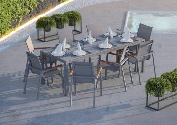 Садовый стул Alicante Teak 1