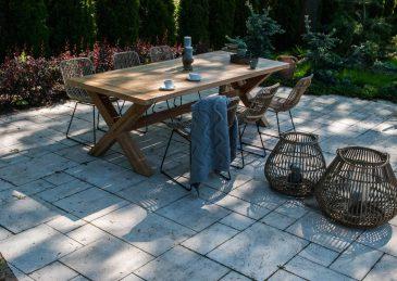 Садовый стул из натурального ротанга DINAN 3