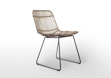 Садовый стул из натурального ротанга DINAN 11