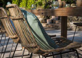 Садовый стул из натурального ротанга DINAN 5