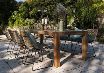 Садовый стул из натурального ротанга DINAN 1