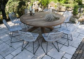 Садовый стул из натурального ротанга DINAN 6