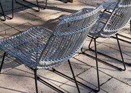 Садовый стул из натурального ротанга DINAN 7