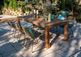 Садовый стул из натурального ротанга DINAN 2