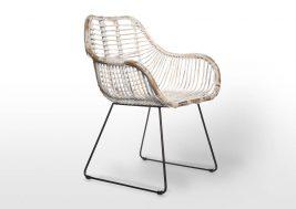 Ретро-стул из натурального ротанга LAVAL 12