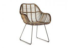 Ретро-стул из натурального ротанга LAVAL 11