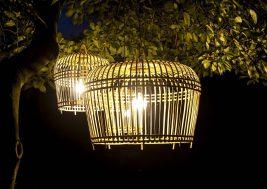 Лампион из бамбука Toulouse 2
