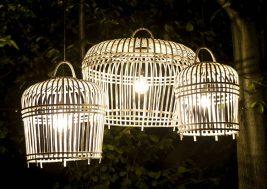 Лампион из бамбука Toulouse 3