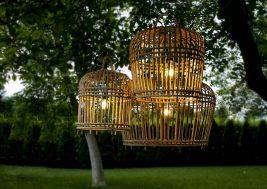 Лампион из бамбука Toulouse 1