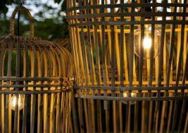 Лампион из бамбука Toulouse 4