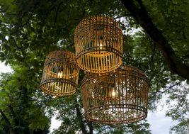 Лампион из бамбука Toulouse 5