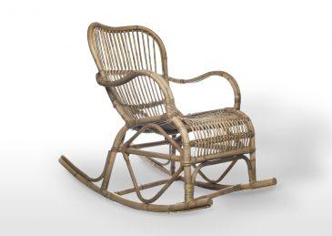 Кресло-качалка из натурального ротанга Marsielle 5
