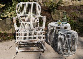 Кресло-качалка из натурального ротанга Marsielle 3