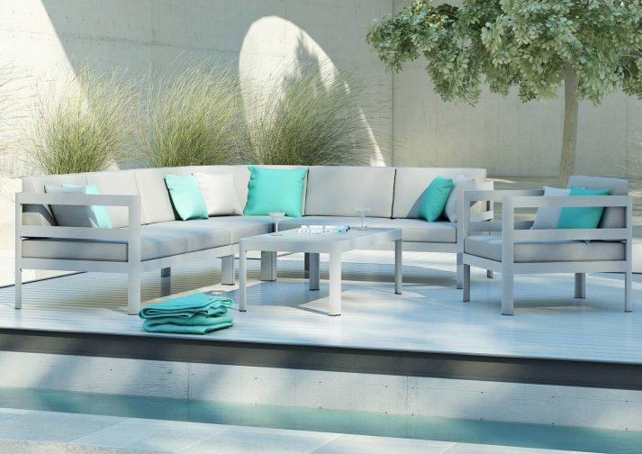 Садовая мебель из алюминия Barcelona