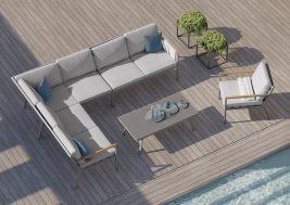 Комплект садовой мебели Lugo 3