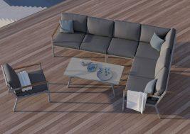 Комплект садовой мебели Lugo 14