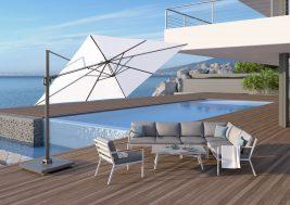 Современный зонт садовый Challenger T² 3x3 м 6