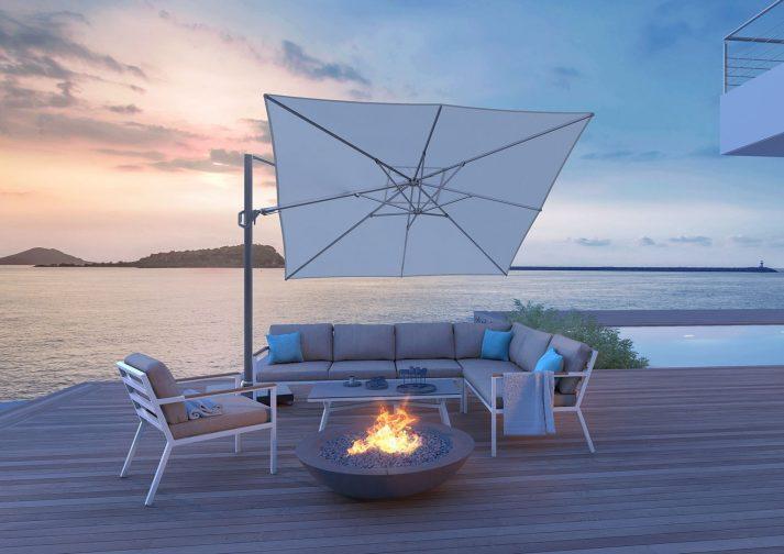 Современный зонт садовый Challenger T² 3x3 м 7