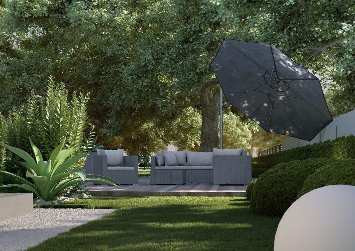 Современный зонт садовый Challenger T² Ø 3,5 м 5