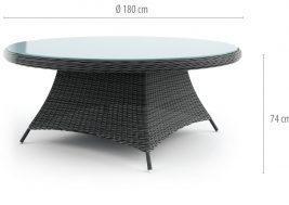 садовый стол rondo 2