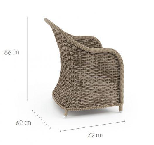 садовое кресло leonardo